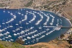 Yachts and sailboats Royalty Free Stock Images