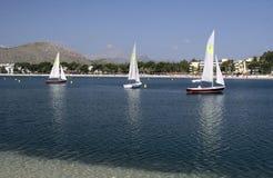 Yachts sailing Royalty Free Stock Photography