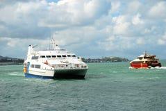 Yachts Sailing Stock Image