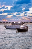 Yachts at Sunset Royalty Free Stock Photo