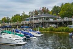 Winnipesaukee Pier in Weirs Beach, NH, USA
