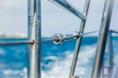 Yachtsegel auf dem Meer Lizenzfreies Stockbild