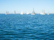 Yachtsegeln Lizenzfreie Stockfotografie
