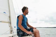 yachtsman Stockfotografie