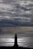 Yacquina Lighthouse portrait Royalty Free Stock Photo