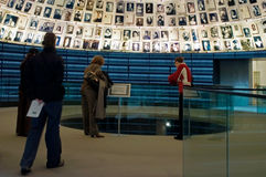 Yad Vashem - förintelsehistoriemuseum i Jerusalem Israel Arkivfoton