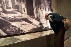 Yad Vashem - het Museum van de Geschiedenis van de Holocaust in Jeruzalem Israël stock foto