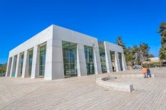 Yad Vashem i Jerusalem Arkivfoto