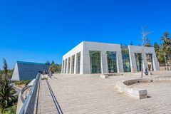 Yad Vashem in Jerusalem Royalty Free Stock Photography