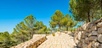 Yad Vashem minnesmärke Arkivfoto