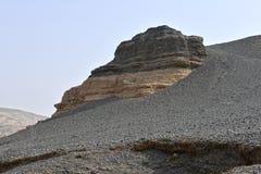 yadan地形在中国的新疆 免版税库存图片