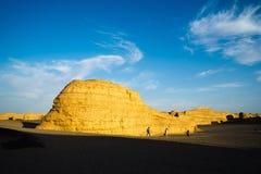 Yadan Landform Stockfoto
