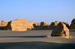Yadan landforms royaltyfria foton