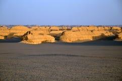 Yadan landforms royaltyfria bilder