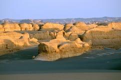 Yadan landforms royaltyfri bild