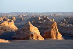 Yadan landforms stock photo