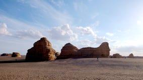 Yadan parkerar nationellt geologiskt Arkivbilder