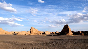 Yadan parkerar nationellt geologiskt Royaltyfri Foto