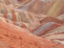 Yadan in Zhangye, Shanxi, China Stock Photography