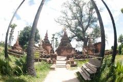 Yadana Hsemee Pagoda Complex in Myanmar. Royalty Free Stock Photos