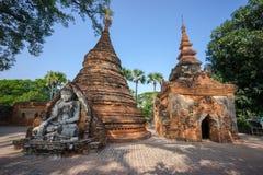 Yadana Hsemee Pagoda, Inwa. Stock Photo