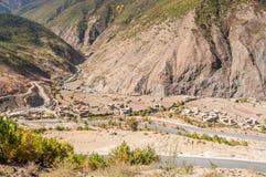 Yading-Dorf Lizenzfreies Stockfoto