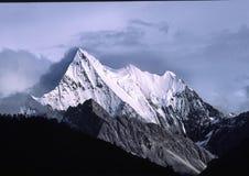 Yading, la posizione della Shangri-La leggendaria Fotografia Stock Libera da Diritti