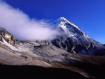 Yading,the location of the legendary Shangri-La,Ve Royalty Free Stock Image