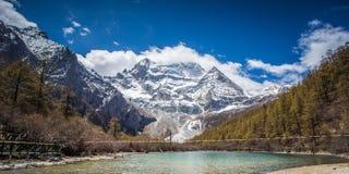 Yading naturreserv Arkivbilder
