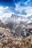 Yading rezerwata przyrody góry krajobraz fotografia royalty free