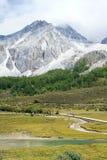 Yading scenery Stock Image