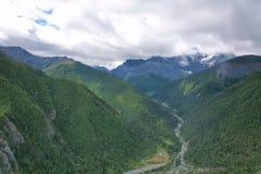 Yading scenery Royalty Free Stock Image