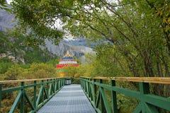 Yading scenery Stock Images
