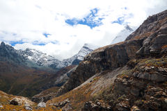 Yading scenic area in China Royalty Free Stock Images