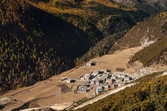 Yading village Stock Photo