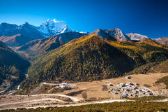 Yading village Royalty Free Stock Images
