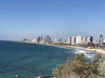 Yafa view of the sea royalty free stock image
