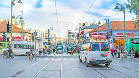 The Yafo Road Stock Photos