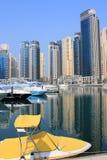 Yaght bay dubai. Dubai marina yaght bay view 1 Stock Photo