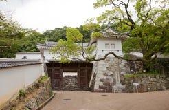 Yaguramon Gate of Tatsuno castle, Tatsuno, Hyogo Prefecture, Jap Stock Photo