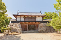 Yaguramon style gate of Kawanoe castle, Shikokuchuo, Japan Stock Photography