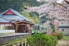 Yahiko Station in Yahiko, Niigata, Japan. Royalty Free Stock Photography