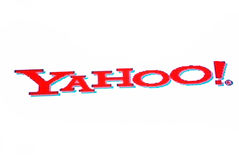 yahoo λογότυπων Στοκ Φωτογραφίες
