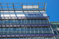 Yahoo размещает штаб Sunnyvale Стоковое Фото