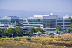 Yahoo högkvarter i Silicon Valley Royaltyfri Foto