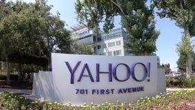Yahoo Headquarters Sunnyvale video d archivio