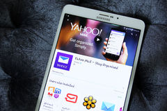 Yahoo mail Royalty Free Stock Images