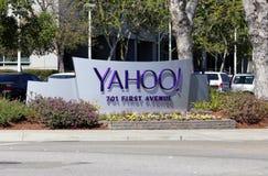 Yahoo! Sièges sociaux du monde Photo libre de droits