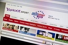 Yahoo Sport Stock Image