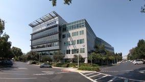 Yahoo Sunnyvale Калифорния сток-видео